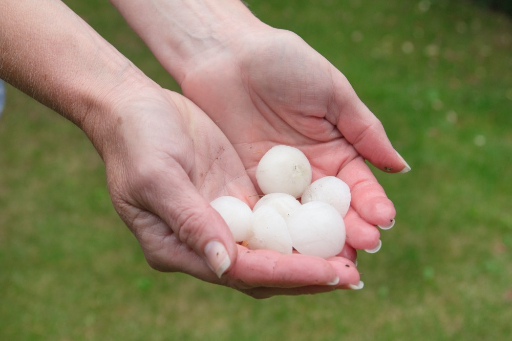 Hail can cause major damage to your hard coat and synthetic stucco systems. Schedule an inspection today and get ahead of potential damage.