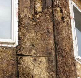 damaged stucco