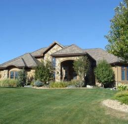 stone home